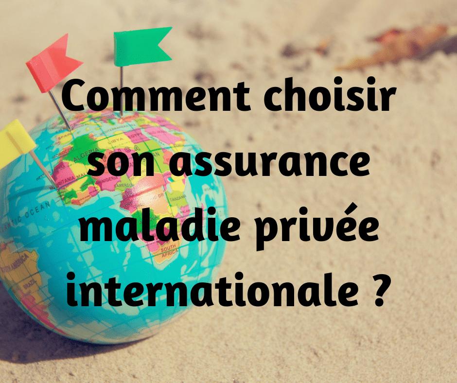 choisir assurance santé internationale