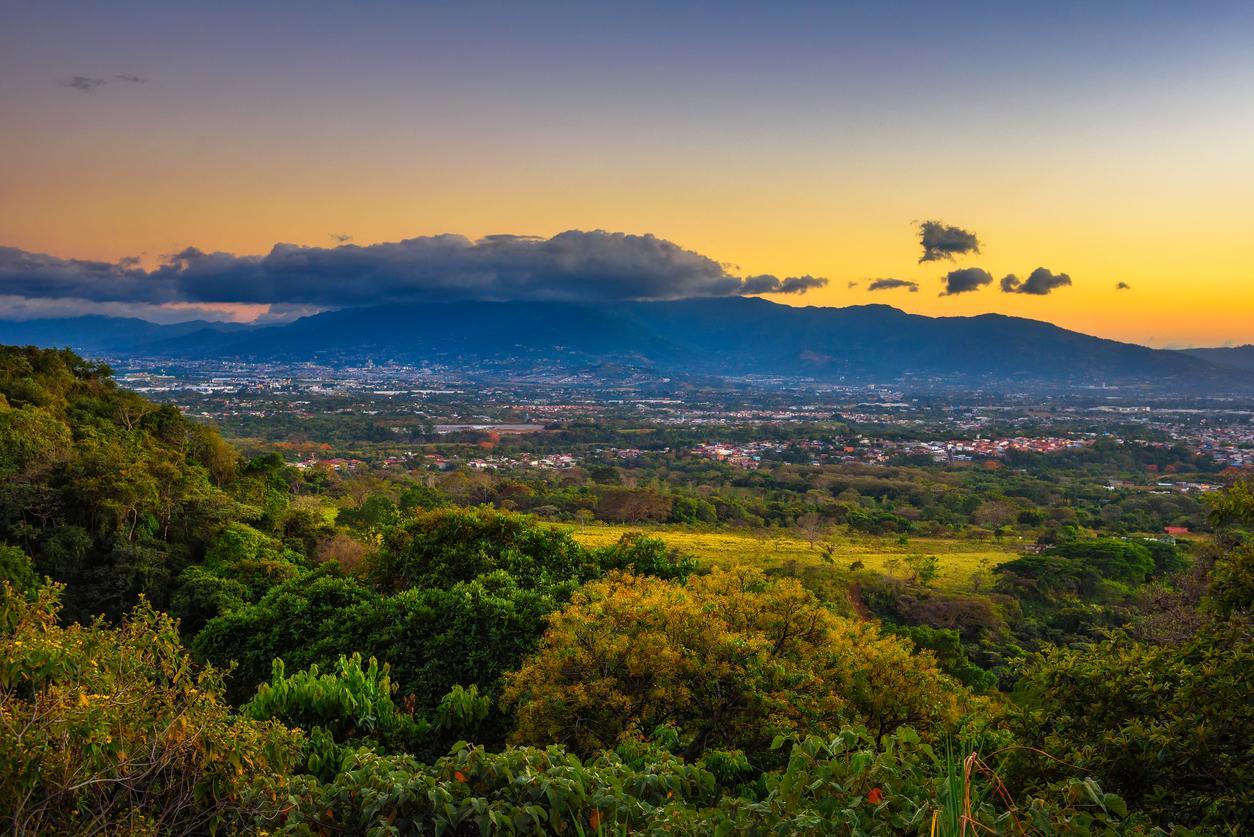 San Jose, une ville pour travailler au Costa Rica avec un visa.