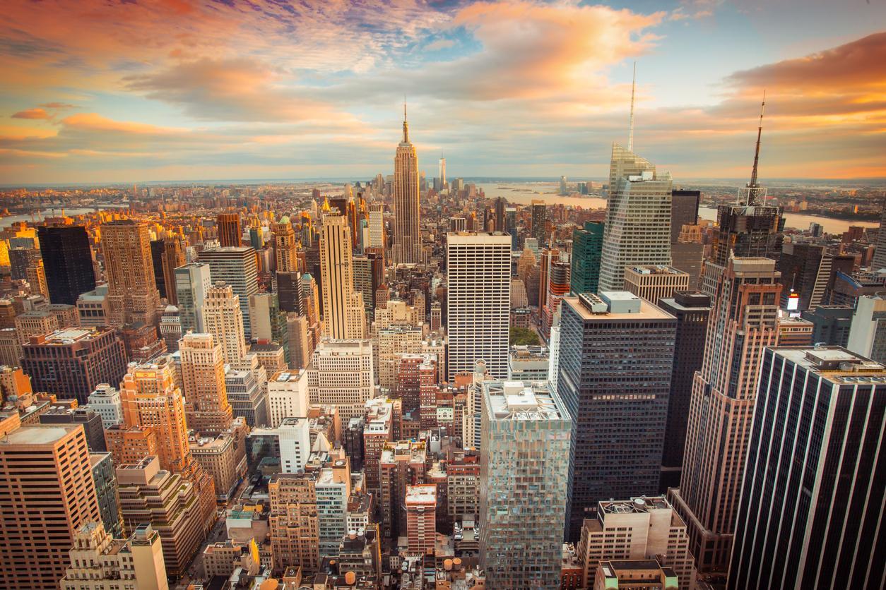 New-York, une destination prisée lors de l'obtention de la visa de travail aux USA.